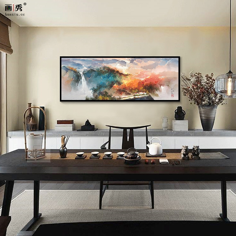 新款客厅风景画