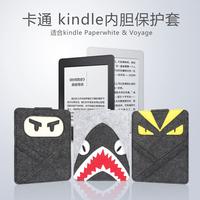 bubm kindle保护套paperwhite卡通内胆包558/958卡通内胆包voyage