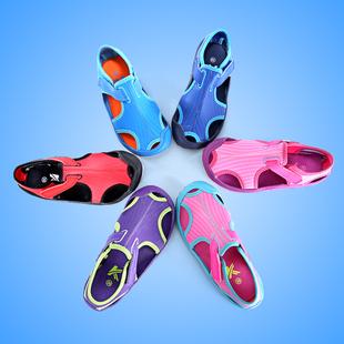 男童女童凉鞋2017新款夏中大儿童鞋子韩版包头凉鞋宝宝小孩沙滩鞋