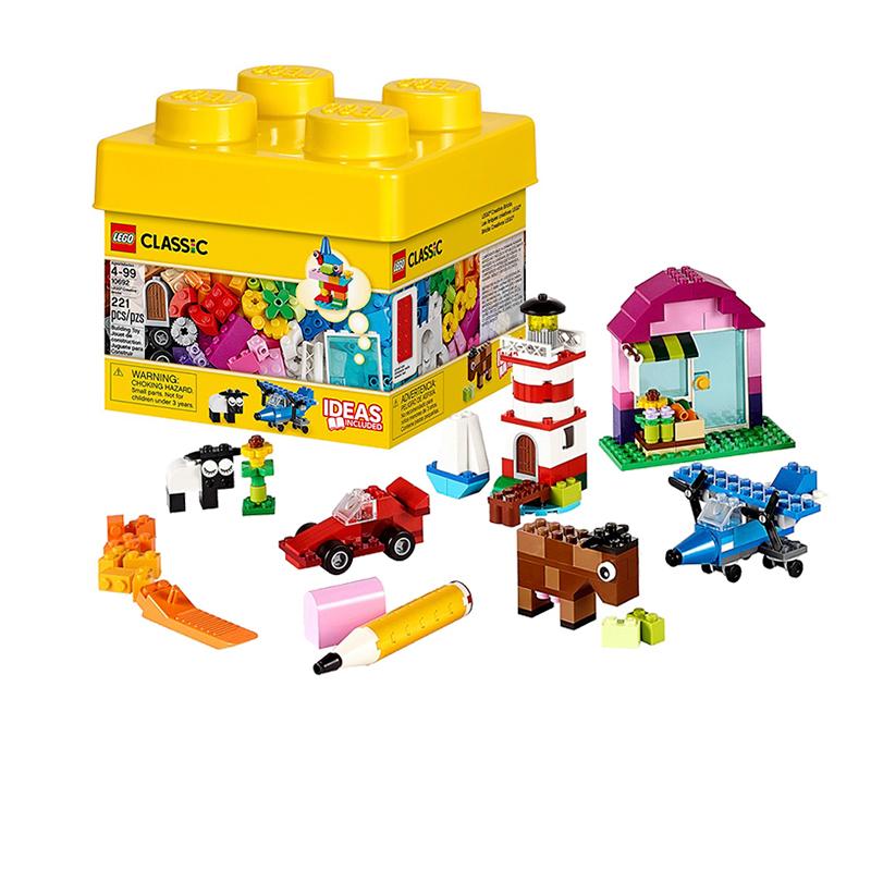 乐高积木拼插玩具 创意系列4岁+ 创意小号积木盒106923元优惠券