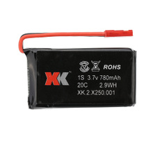 Original XK X250-001 3.7V 780mAh 20C Lipo Battery for X250 R