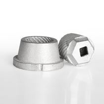 绞肉机磨头 配套用磨粉头 适用于和10号和12号 铸铁磨粉机配件