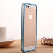 松羚 iPhone 5s手机壳苹果5代防摔手机套5SE外壳硅胶边框4代保护套软4S软
