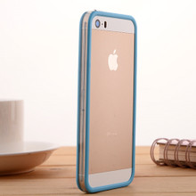iPhone 5s手机壳苹果5代防摔手机套5SE外壳硅胶边框4代?;ぬ兹?S软 松羚