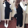 韩版包臀毛衣裙