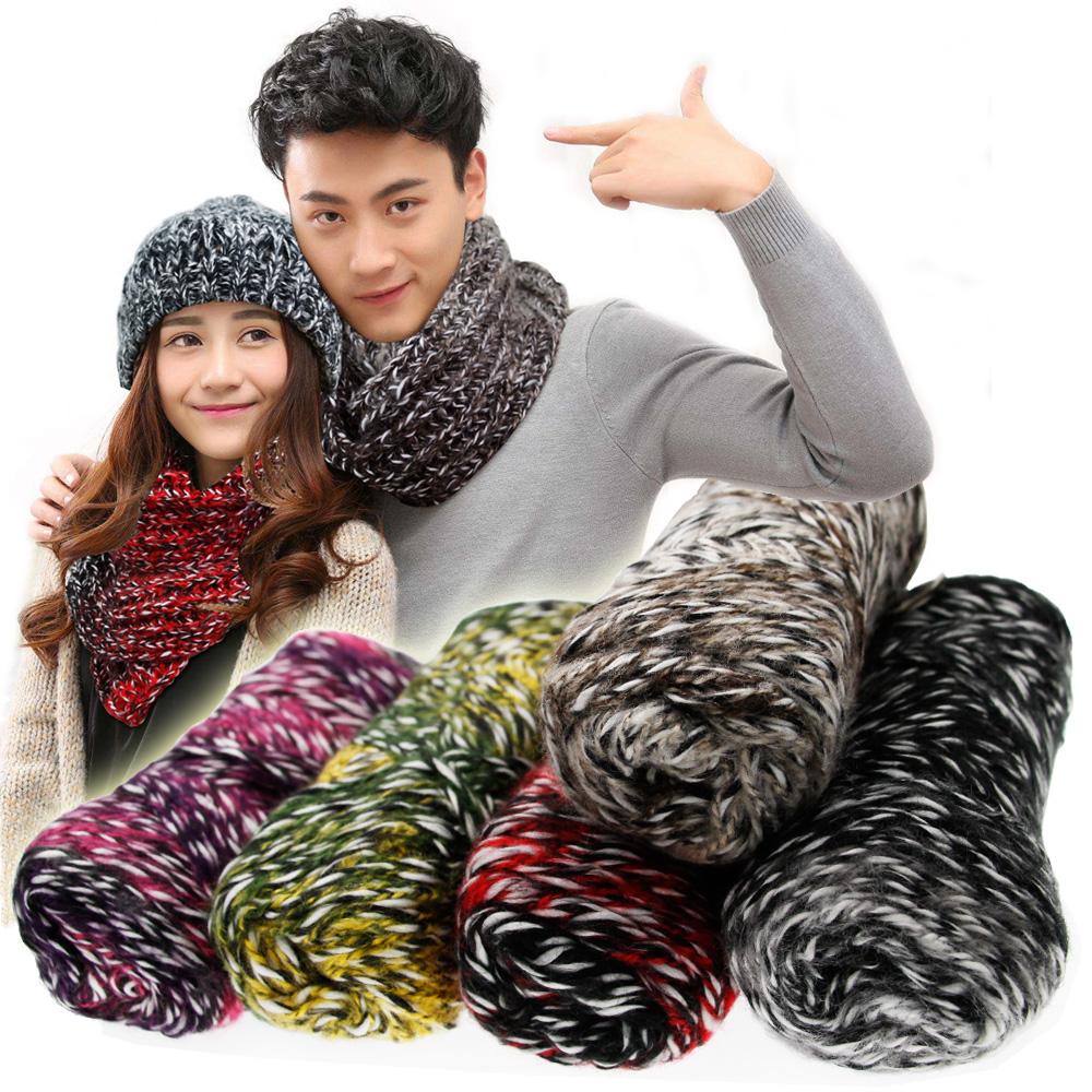 情侣款毛线围巾
