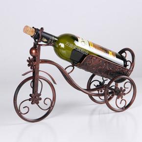 红酒架摆件现代简约客厅摆件家居装饰品葡萄酒架创意酒柜摆设欧式