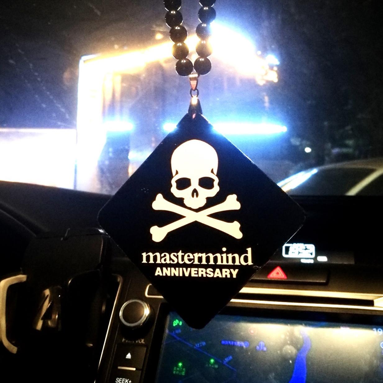 潮牌JDM低趴汽车挂件后视镜亚克力男女飞度个性创意保平安车吊坠