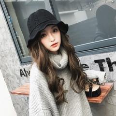 秋冬毛線帽子