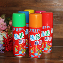 Flower Gods Wedding Goods Wedding Goods Wedding Birthday Christmas Ceremony Wedding Colorful Sprayer with Colorful Strips Snow Spray Cans