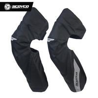 SCOYCO match feather motorcycle winter windproof warm knee pads elbow drop detachable riding protective gear K21