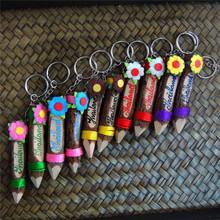 诗玛哈泰国特色礼品旅游纪念品泰国艺术装饰铅笔个性带字钥匙扣款