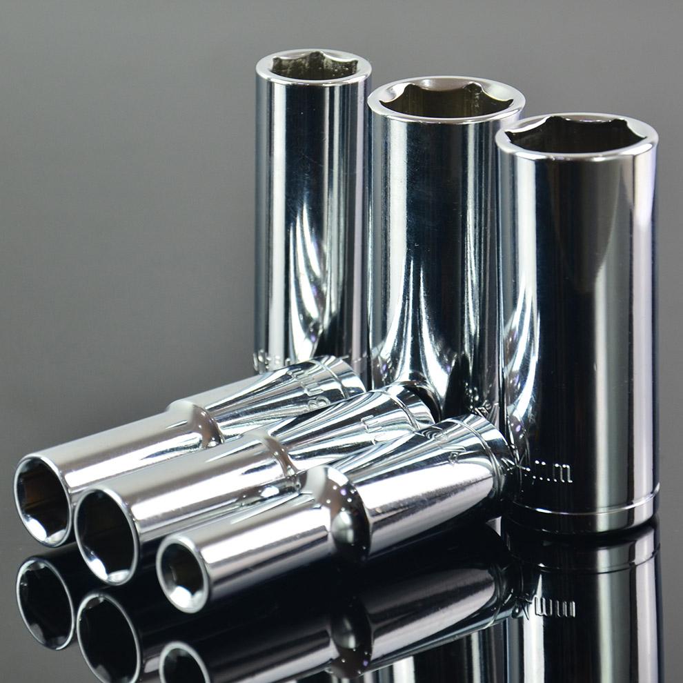 加长六角套筒头子大飞汽车维修理五金工具1/2寸12.5mm 长套筒