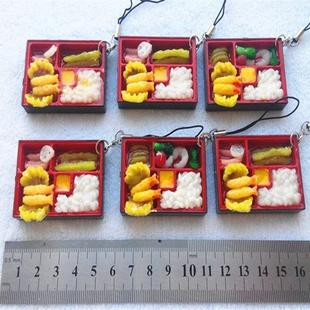 仿真食物钥匙扣创意新奇特仿真餐日本寿司包包挂件小饰品小礼物