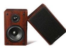 2.0木质书架音箱 无源监听 高低音对箱5.25寸hifi发烧级家庭音响
