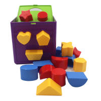 Baby infant baby Montessori early childhood educational children's toys enlightenment shape pairing blocks 01-2-3 years old and a half