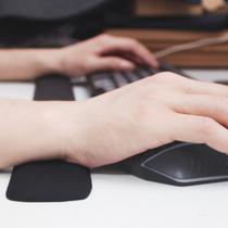 键盘护腕鼠标手枕腕托护腕垫鼠标垫腕垫腕带护手特大鼠标垫超大号