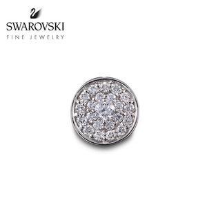 施华洛世奇DIA CHERISH 几何链坠 18K金钻石吊坠女 高级珠宝首饰