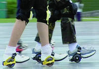 Hot-selling heel two-wheeled skating roller skating adult travel violent men and women children starry foot hot wheels shoes