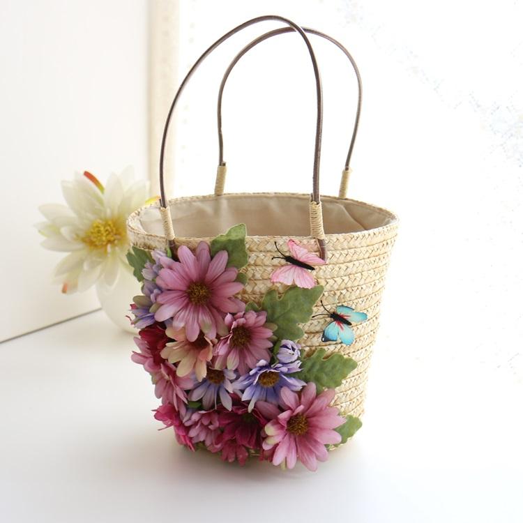 蝴蝶花朵包
