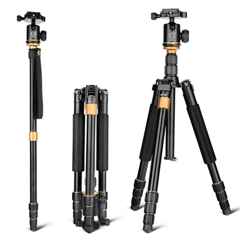 轻装时代Q999S三脚架单反照相机摄像手机支架微单便携三角架云台