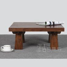 老榆木家具仿古炕桌实木阳台小茶几小桌子矮桌炕上桌茶桌榻榻米桌