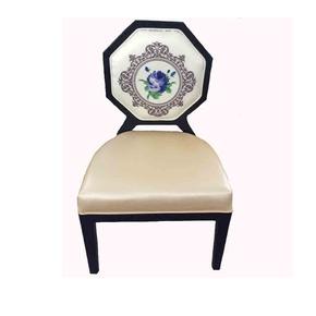 现代新中式餐椅现代简约售楼处洽谈椅子餐厅实木餐桌椅创意家具