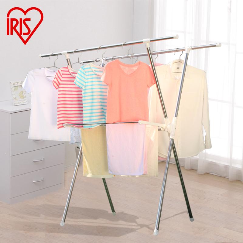 爱丽思IRIS X型室内室外置地晒衣架晾晒架CLS-940XE3元优惠券
