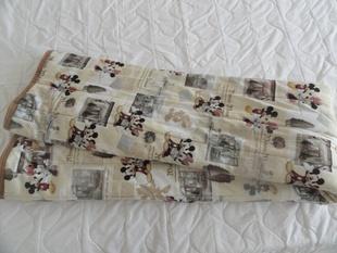 外贸日本出口绗缝秋冬学生单人保暖床垫/玩具总动员米奇卡通褥垫