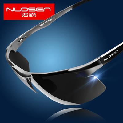 诺森偏光太阳眼镜男士潮人墨镜运动司机驾驶镜开车用高清个性眼睛图片