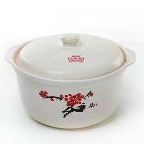 福康砂鍋燉鍋陶瓷煲一號三號四號深式煲湯煲明火耐高溫鍋沙鍋粥煲