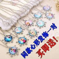 雪花项链宝石