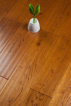 金海鸥地板 橡木纯实木地板 手抓纹仿古 柚木色美式原木厂家直销