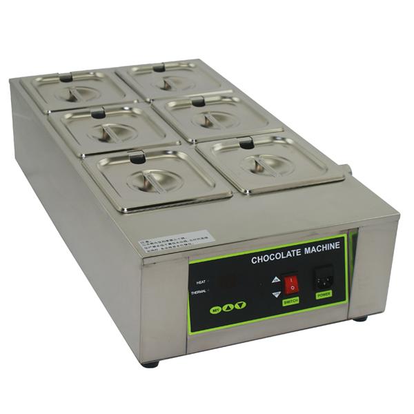 加热巧克力融化炉diy融化机器烘焙蛋糕店保温隔水电热熔炉商用6缸
