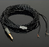 OFC无氧铜线芯升级线 包邮 UE四股编织线 DIY耳机3.5mm维修线材图片