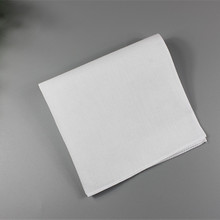 DIY小手帕 扎染漂染 纯棉手帕 纯色手帕 纯白手帕 手工制作涂鸦