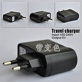 Wholesale USB charger direct charge head MP345 cell phone power adapter with IC protection indicator color change