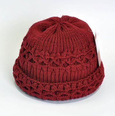 推荐中老年人帽子休闲女针织毛线帽奶奶帽保暖冬季帽妈妈帽秋冬