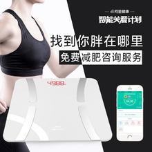 禾诗体脂秤智能精准人体脂肪称成人减肥家用电子秤迷你健康体重秤
