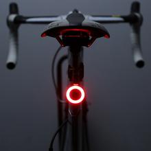 自行车尾灯usb充电山地车灯夜骑公路车骑行高亮创意尾灯装备配件