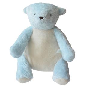 法国进口Moulin Roty 盒装蓝色小熊710061儿童毛绒玩具带礼盒bear