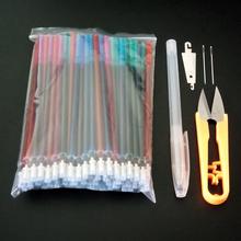 【天天特价】十字绣水溶笔芯专用笔芯打点画格描点50支5色混发
