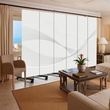 饰墙守静家 玄关可移动流行简约现代酒吧折叠背景装 屏风隔断酒店