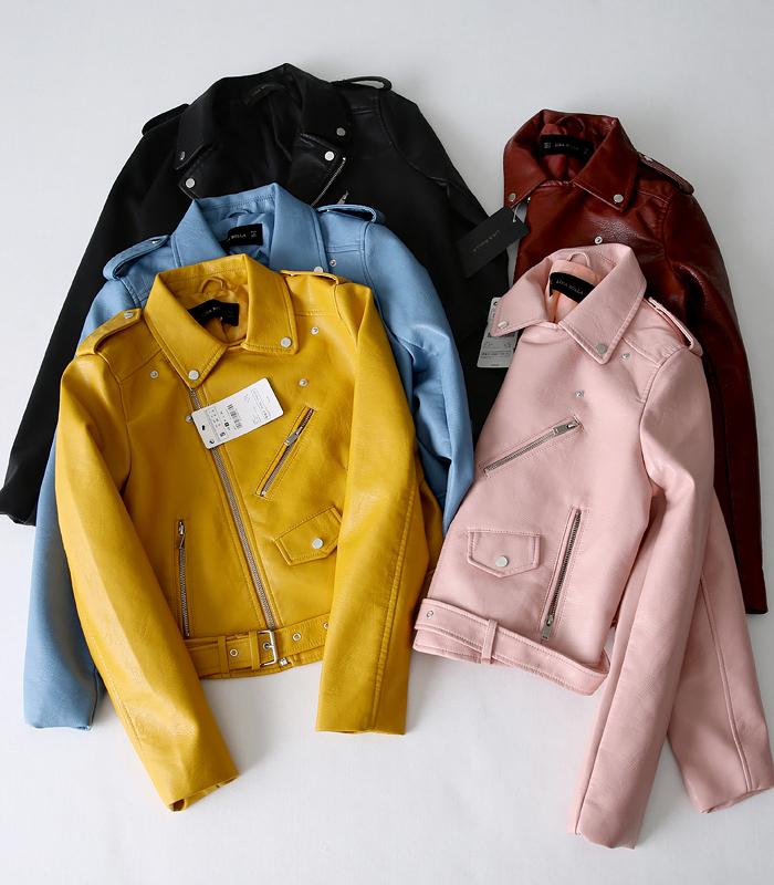 Женские кожаные куртки Артикул 555573907485