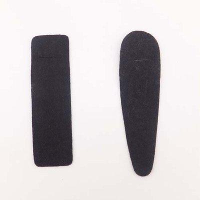 淘饰品1号店-发夹方夹水滴夹不织布垫片 发饰材料DIY饰品配件批发