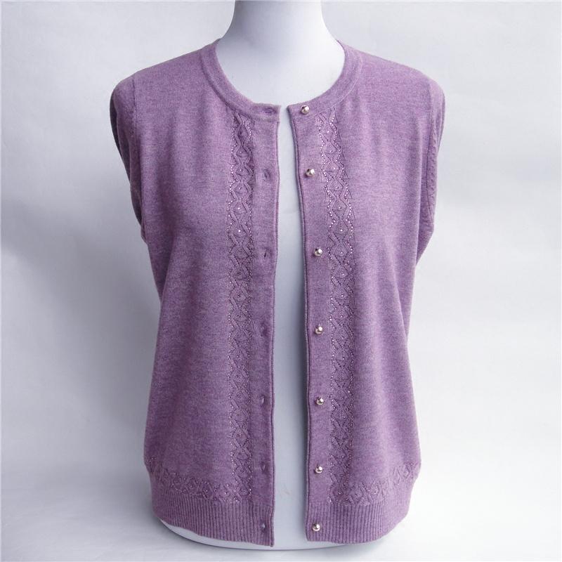 中年妇女妈妈装羊毛衫