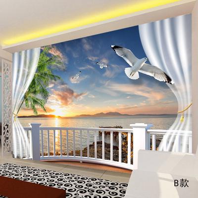 墙纸窗户壁画排行