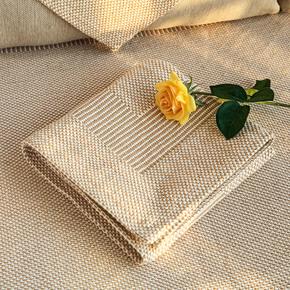 加厚防滑客厅亚麻沙发垫四季通用布艺简约现代坐垫棉麻沙发巾套罩