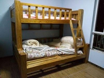 韩式实木子母双层床领取优惠券