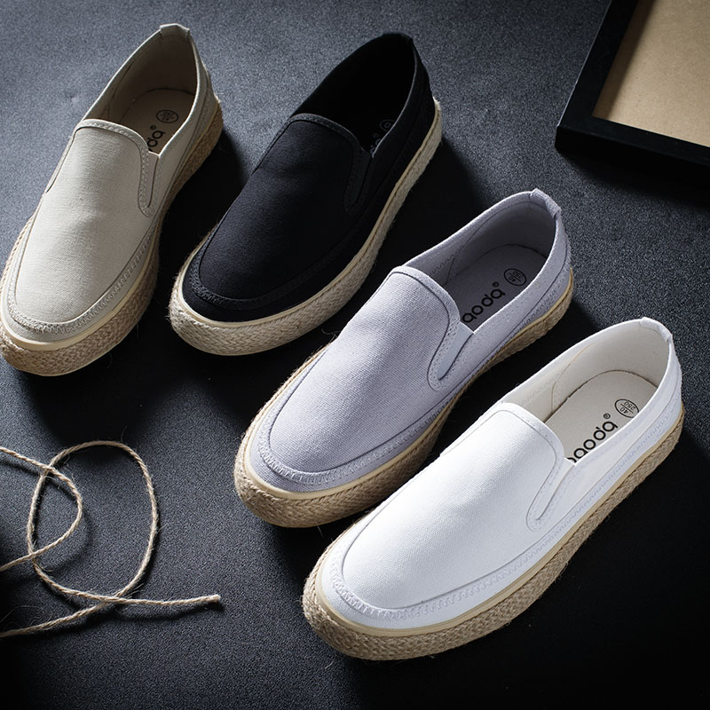 男人懒人鞋